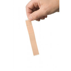 Lange vingerpleister 12 x 2 cm elastisch, 100 stuks