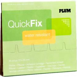 Plum QuickFix PE pleisters navulling, per 6 stuks