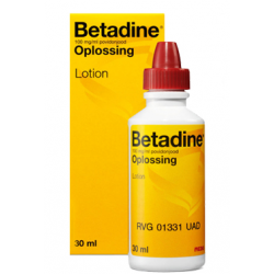 Betadine jodium flacon 30 ml, desinfectie lotion