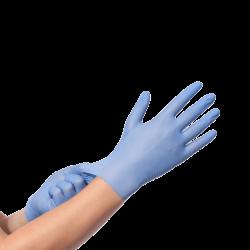 Nitrile handschoen doos á 100 stuks, per doos