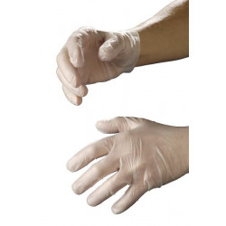 Handschoenen vinyl l per paar niet steriel